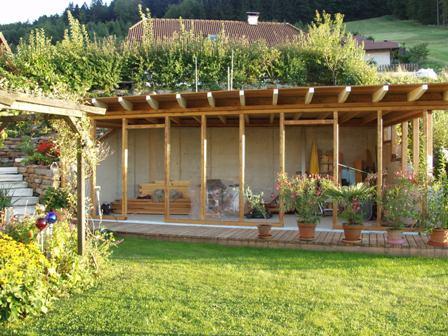 Konstruktionsteile und z une holz stein mehr - Gartenhaus stein bausatz ...